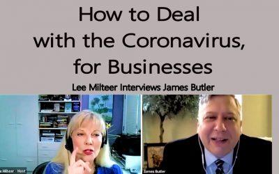Help for Entrepreneurs in the Time of the Coronavirus